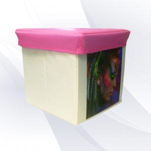 הדפסה על קופסת אחסון עם תמונה הדפסה על מוצר