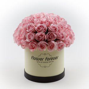 פרחי סבון שנשארים איתך עם ריח קופסה עגולה לעיצוב הבית