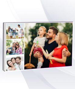 קולאז 4 תמונות קנבס בהתאמה אישית עם תמונה אישית קולאז