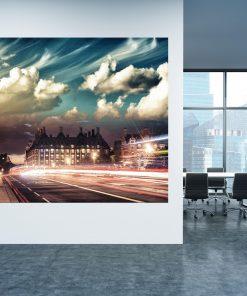 תמונת קנבס - לונדון בין הערביים למשרדלעיצוב הבית, לחדרי שינה או למטבח