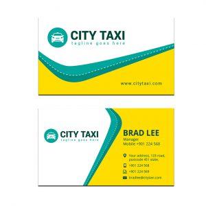 עיצוב כרטיס ביקור - הסעות ומוניות דגם 1