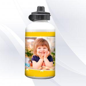 בקבוק שתייה מעוצב כוכב בעיצוב אישי עם שם