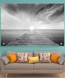 תמונת זכוכית לסלון לעיצוב הבית