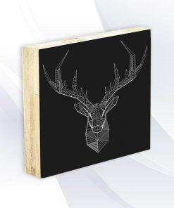 בלוק עץ - אייל גאומטרי אקססוריז ואבזרים לעיצוב הבית