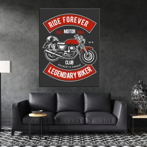 תמונת קנבס לסלון לעיצוב הבית סגנון כרזה