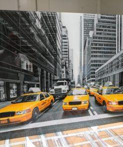 תמונות זכוכית - מוניות ניו יורק לקוח מרוצה
