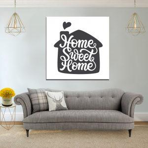 תמונת קנבס כרזה ומשפטים מעוצבים לעיצוב הבית
