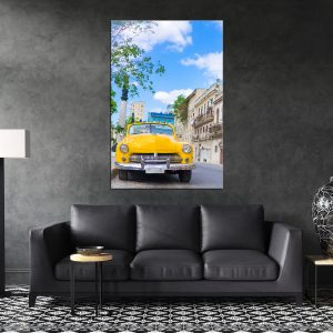 תמונת קנבס הוואנה קלסיק בקובה לסלון לעיצוב הבית