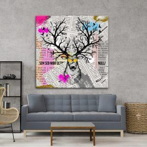 תמונת אומנות - עיתון איילי לסלון לעיצוב הבית