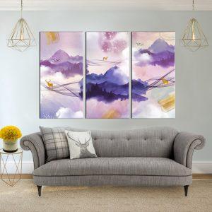 תמונת קנבס עולם האיילים לסלון לעיצוב הבית