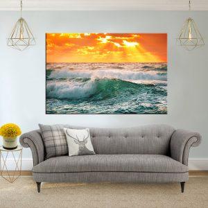 תמונת קנבס ים אקזוטי לסלון לעיצוב הבית