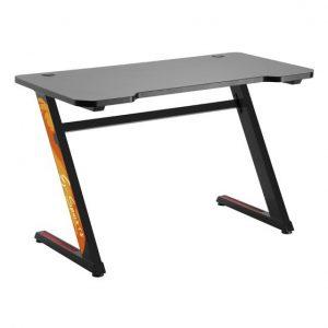שולחן גיימיניג שחור מקצועי לאווירת משחק מקצועית