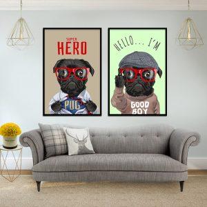 תמונת סופר דוג לסלון לעיצוב הבית