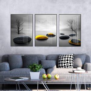 תמונת קנבס אבני השפע לסלון לעיצוב הבית