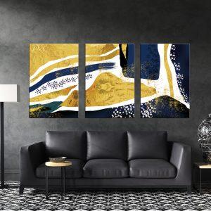 תמונת קנבס אבסטרקט נורדי דקורטיבי לסלון לעיצוב הבית