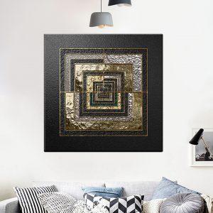 תמונת קנבס הקוביה לסלון לעיצוב הבית