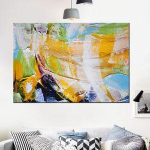 תמונת קנבס טרופי לסלון לעיצוב הבית