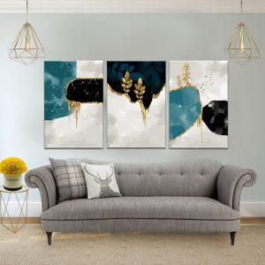 תמונות קנבס צוקים מצופים לסלון לעיצוב הבית, לחדרי שינה או למטבח