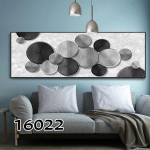 תמונת קנבס עיגולים אבסטרקטים לסלון לעיצוב הבית סגנון כרזה