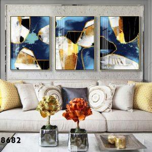 תמונת קנבס אבני רויאל לסלון לעיצוב הבית