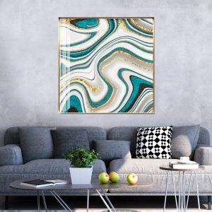 תמונת קנבס אבסטרקט עיצובי לסלון לעיצוב הבית