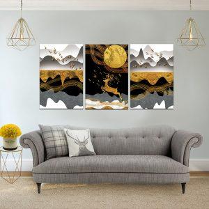 תמונת קנבס אייל המדבר לסלון לעיצוב הבית