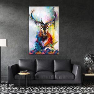 תמונת קנבס אייל זכרי לסלון לעיצוב הבית