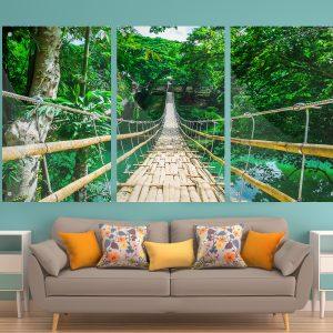 גשר במבוק תמונת זכוכית