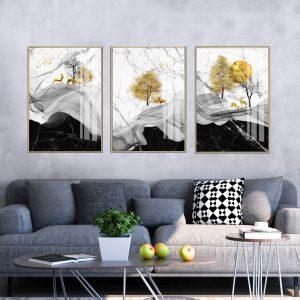 תמונת קנבס מנוחת האיילים לסלון לעיצוב הבית