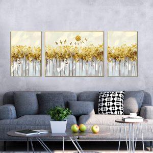 תמונת קנבס פרדס העושר לסלון לעיצוב הבית