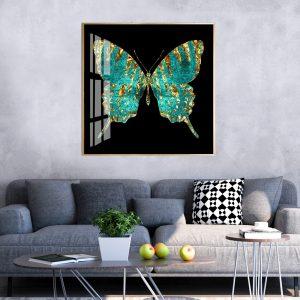 תמונת קנבס פרפר עשיר לסלון לעיצוב הבית