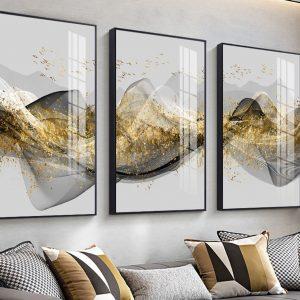 תמונת קנבס שובל הציפורים לסלון לעיצוב הבית