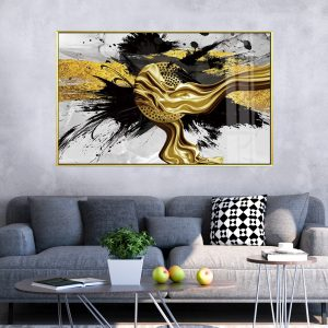 תמונת קנבס שובל מסונן לסלון לעיצוב הבית