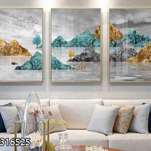 תמונת קנבס הרי הבזלת לסלון לעיצוב הבית