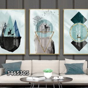 תמונת קנבס צוקי האיילים לסלון לעיצוב הבית