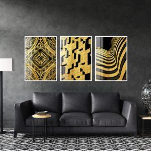 תמונת דיקור יוקרתי לסלון לעיצוב הבית