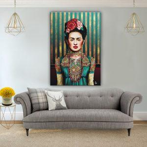 תמונת קנבס מיס פרידה לסלון לעיצוב הבית