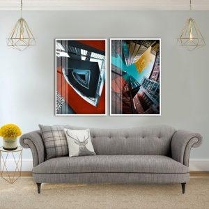 תמונת פוטו סיטי סטייל לסלון לעיצוב הבית