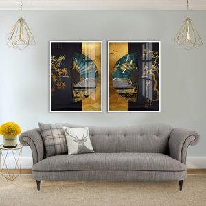 תמונת סיפור סיני לסלון לעיצוב הבית