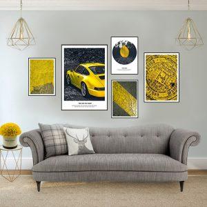תמונת פורש לסלון לעיצוב הבית