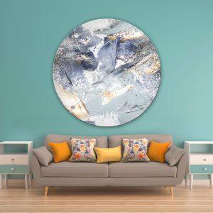 תמונת זכוכית מתחת למים לסלון לעיצוב הבית