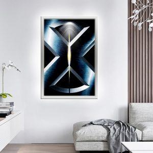 לייטבוקס תמונה מוארת - אקסמן לוגו לעיצוב הבית