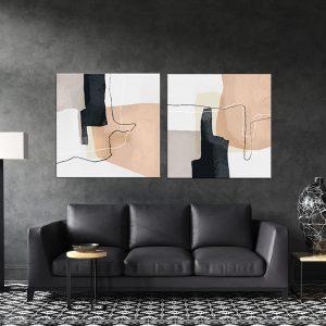 תמונת קנבס אהתפשטות מודרנית לסלון לעיצוב הבית