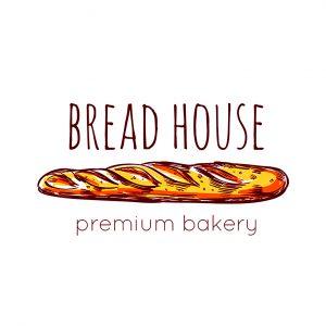 לוגו מאפיות ועוגות דגם 1