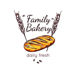 לוגו מאפיות ועוגות דגם 2