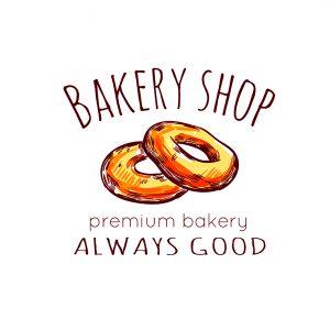 לוגו מאפיות ועוגות דגם 3