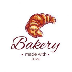 לוגו מאפיות ועוגות דגם 8