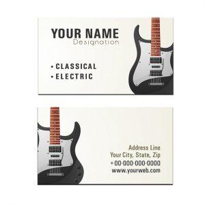 כרטיס ביקור - מוזיקה דגם 12