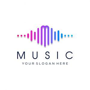 לוגו מוזיקה דגם 2