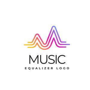 לוגו מוזיקה דגם 5